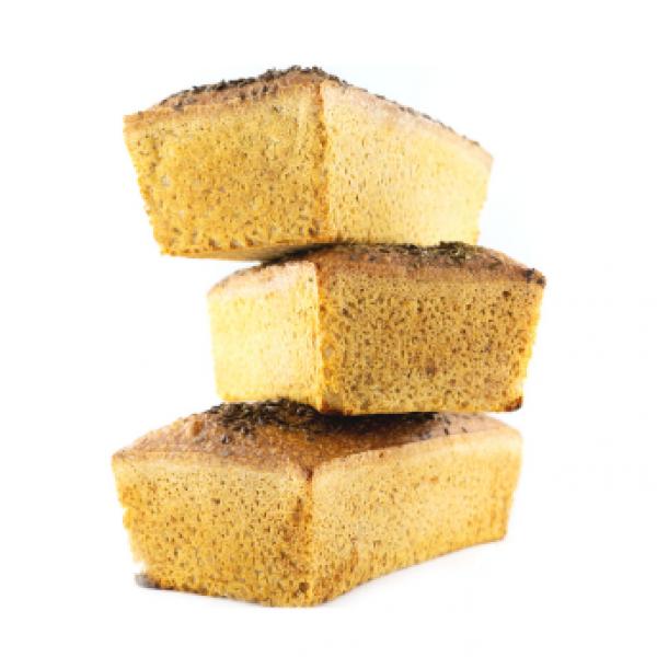 Chleb bezglutenowy - wegański - 3 sztuki