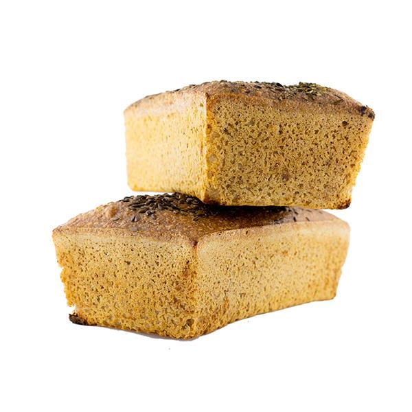 Chleb bezglutenowy - wegański - 2 sztuki