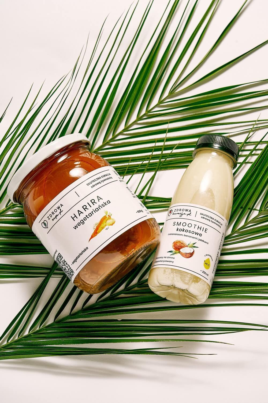 dieta sokowa - smoothie kokosowe